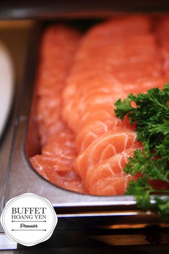 Cá hồi sashimi